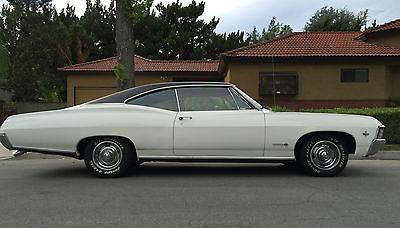 Chevrolet : Impala SS 1967 chevy impala ss fastback, 1
