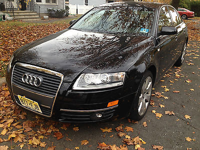 Audi : A6 Luxury Sedan 4-Door 2006 audi a 6 3.2 quattro technology premium cold weather packages