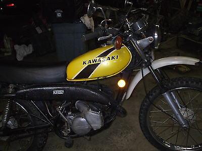 Kawasaki : Other 1975 kawasaki ke 125 street trail
