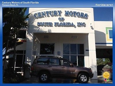 Toyota : Land Cruiser 4X4 ROOF HEATED LEATHER BLUETOOTH TOW V8 ONE OWNER TOYOTA TRUCK SUV LANDCRUISER LAND CRUISER V8 TOW 4X4 4 WHEEL DRIVE LEATHER