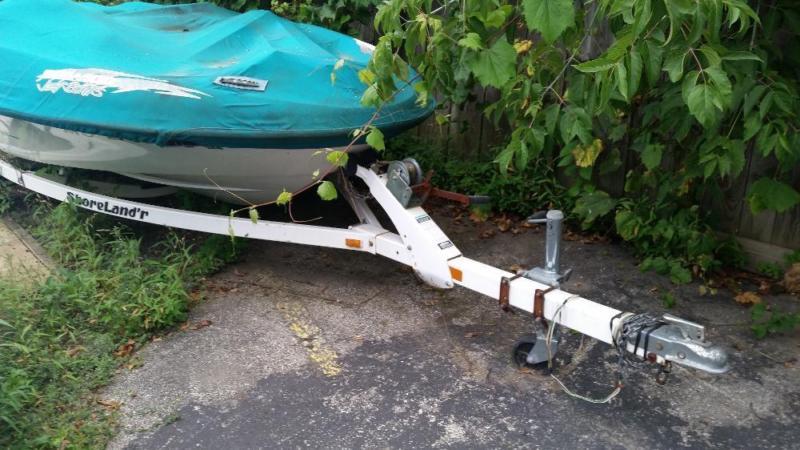 Seadoo twin Jetboat amd trailer