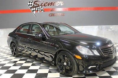 Mercedes-Benz : E-Class E350 Luxury black, black leather, awd