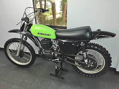 Kawasaki : KX 1973 kawasaki f 11 mx pre production kx 250 prototype 1 of 200 must see 1974