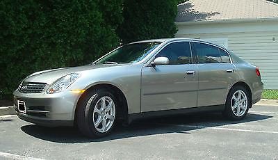 Infiniti : G35 X Sedan 4-Door 2004 infiniti g 35 x sedan 4 door 3.5 l awd diamond graphite