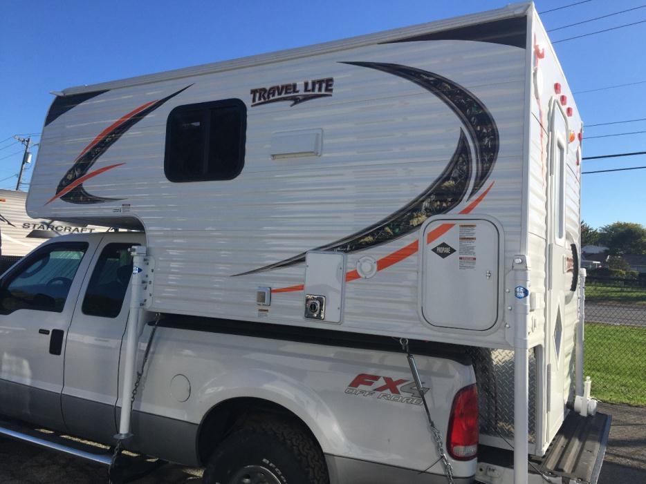 2012 Travel Lite Truck Camper 690fd