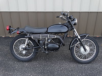 Yamaha : Other Vintage 1971 Yamaha DT1 250 cc Two Stroke Dirt Bike Enduro