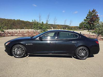 Maserati : Quattroporte GTS 2014 maserati quattroporte gts msrp 155 610.00 every option carbon fiber