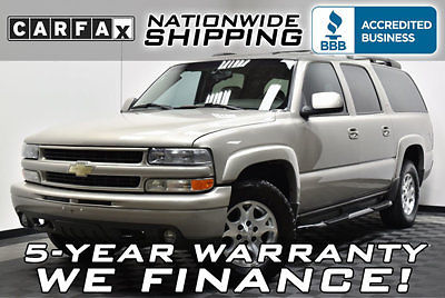 Chevrolet : Suburban Z71 4x4 1 texas owner z 71 4 wd 5 year warranty nationwide shipping leather carfax records