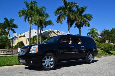 GMC : Yukon 2WD Denali 2014 gmc yukon denali xl power heated 1 st 2 nd rows power folding tow pack dvd