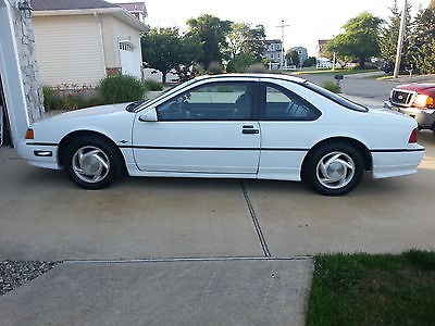 Ford : Thunderbird sc 1990 ford thunderbird super coupe coupe 2 door 3.8 l