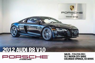 Audi : R8 5.2L 2012 audi 5.2 l