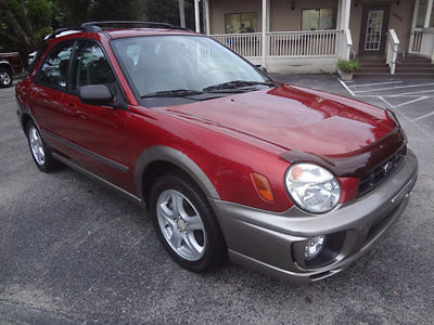 Subaru : Impreza 5dr Wagon Outback Sport Automatic 2002 outback sports awd 1 owner low miles 1 of the nicest around warranty clean