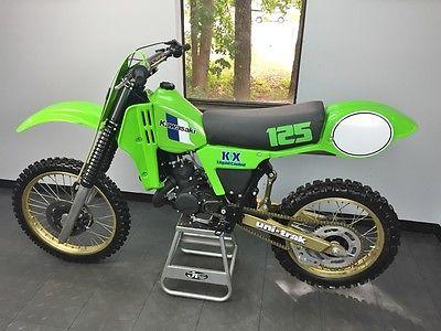 Kawasaki : KX 1983 kawasaki kx 125 must see vintage kx resto rare kx 125 ahrma evo