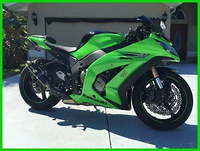 Kawasaki : Ninja 2011 kawasaki ninja zx 10 r excellent condition we finance