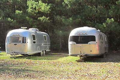 1972 airstream 27ft overlander  and 1969 31ft parts camper