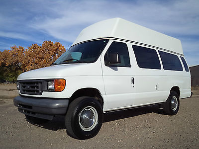 Ford : E-Series Van XL 2006 ford e 350 high top wheelchair lift van handicap equipped make offer