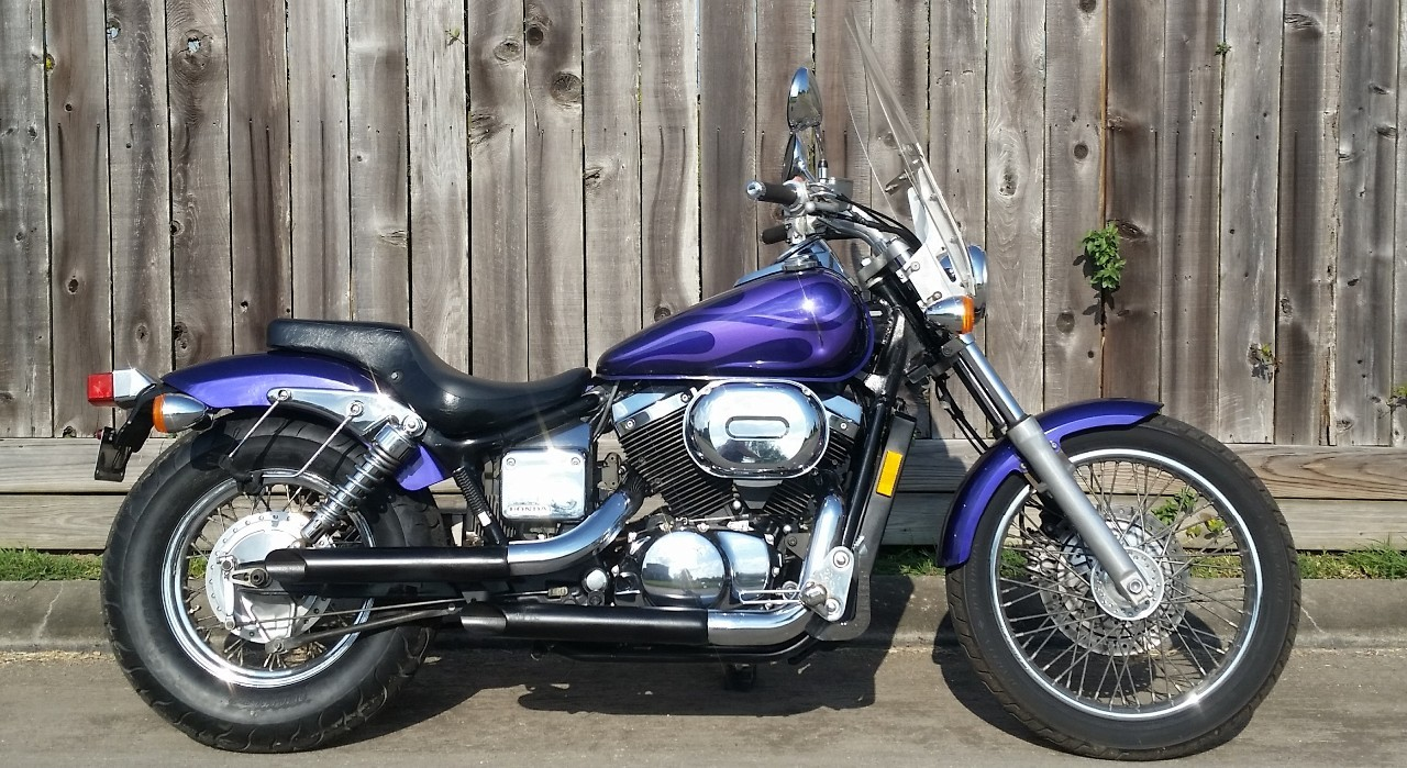 honda shadow motorcycles for sale in league city texas. Black Bedroom Furniture Sets. Home Design Ideas