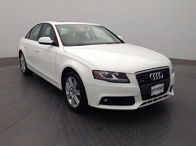 Audi : A4 2.0T Premium 2010 audi 2.0 t premium