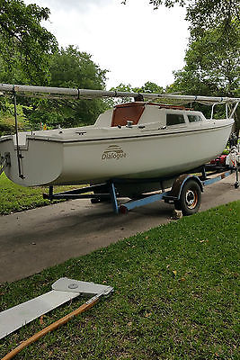 Catalina 22 Swing Keel '77 with Roller Furling, Trailer, and Motor