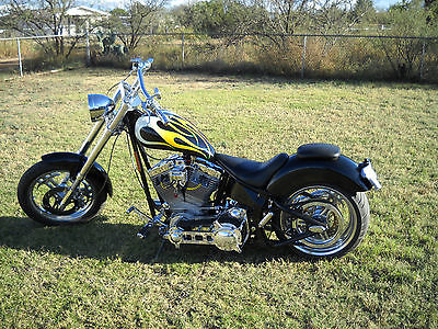 Custom Built Motorcycles : Chopper 2010 titan custom soft tail