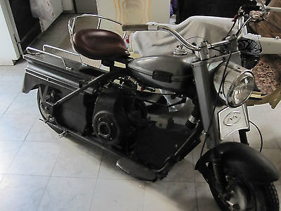 Cushman : Super Eagle 1965 cushman super silver eagle scooter 2 speed suicide shifter very cool