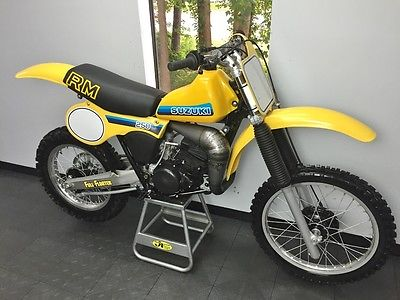 Suzuki : RM 1981 suzuki rm 250 x rare vintage rm must see full resto fresh motor rm 250