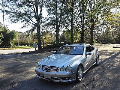 Mercedes-Benz : CL-Class cl 600 2002 mercedes cl 600 excellent condition 78 k