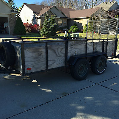 Utility Trailer 5x12 Tandem Axle Local Sale Only Southeast Michigan