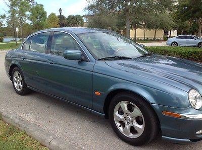 Jaguar : S-Type 3.0 Personal Luxury Touring Sedan 2001 jaguar s type florida car low miles like new condition