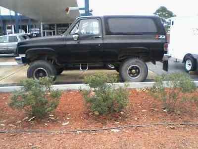 Chevrolet : Blazer Custom Sport Utility 199 o chevrolet blazer k 5 sport utility