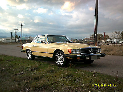 Mercedes-Benz : 400-Series SL 450 1978 mercedes benz 450 sl base convertible 2 door 4.5 l