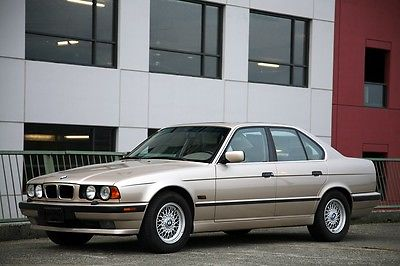 BMW : 5-Series E34 1995 bmw 530 i e 34 one owner museum quality 64 k miles