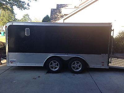 7 x 14 Tandem Axle Custom Motorcycle Trailer, Low Hauler That Fits in a Standard