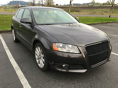 Audi : A3 Base Hatchback 4-Door 2009 audi a 3 premium wagon 2.0 l turbo auto 75 k miles tan leather pano roof
