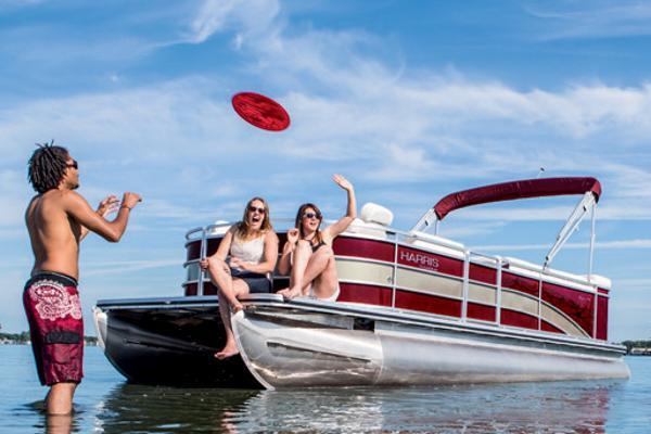 2015 Harris FloteBote Cruiser 220 CS