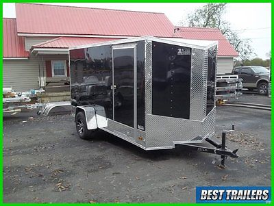 2016 Look 6 x 12 sport package New cargo enclosed single motorcycle trailer