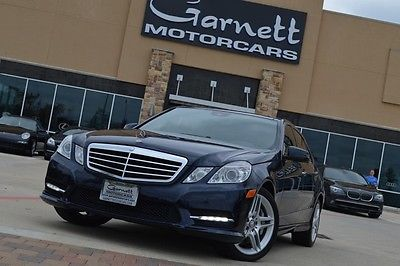 Mercedes-Benz : E-Class E550 Sport SEDAN * PANO ROOF * LANE TRACKING PKG 2013 mercedes e 550 w 4 sedan pano roof premium 2 pkg 75 k new pristine cond