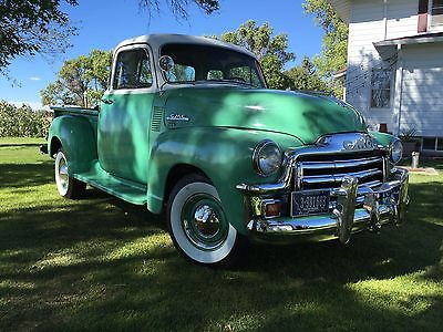 GMC : Other 100 series 1954 gmc 5 window cab pick up