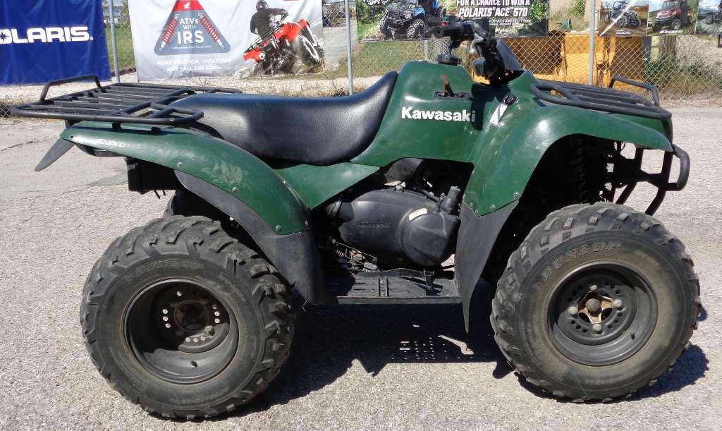 kawasaki prairie 300 motorcycles for sale. Black Bedroom Furniture Sets. Home Design Ideas