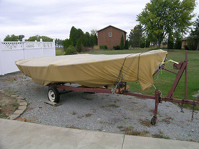 Custom Flex Interlake Sailboat 18 ft with Pamco Trailer