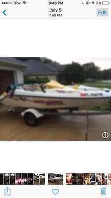 1997 Seadoo Speedster boat and trailer runs great