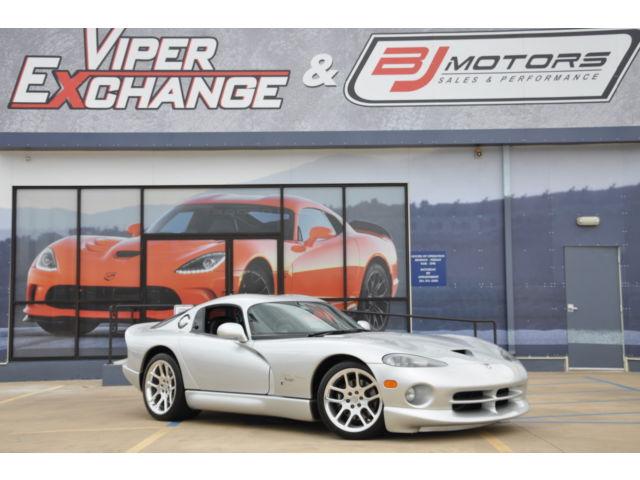 Dodge : Viper 2dr GTS Coup 1998 dodge viper billet silver monotone supercharged