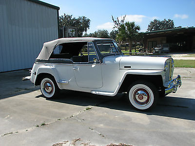 Willys : Jeepster concours Restoration 1948 willys overland jeepster concours restoration