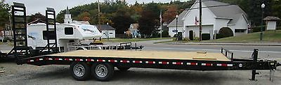 20+4 14K Quality Steel & Aluminum Product,equipment deck over trailer 102