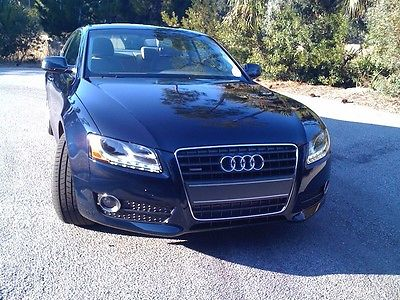 Audi : A5 2 door coupe 2010 audi a 5 2 dr coupe automatic quattro 2.0 tfsi premium plus deep sea blue