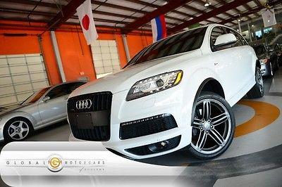Audi : Q7 3.0T S line Prestige 13 audi q 7 prestige s line navi rear cam pano roof 3 rd row bose