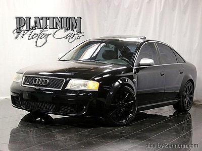 Audi : RS6 4dr Sedan 4.2L quattro AWD Audi RS6 - Clean Carfax - V8 Bi-Turbo - 450 hp - Rare Car - Low Miles