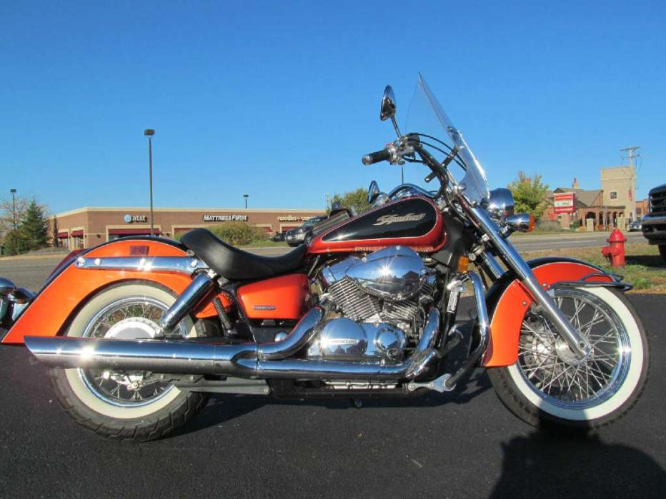honda shadow 750 american classic edition motorcycles for sale. Black Bedroom Furniture Sets. Home Design Ideas