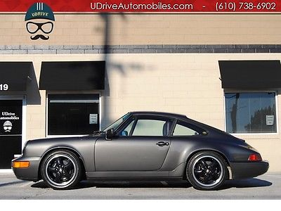 Porsche : 911 Carrera 911 964 coupe carrera 2 5 spd documented full history clean carfax