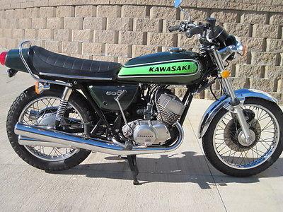 Kawasaki : Other 1974 kawasaki h 1 e 500 triple nice survivor 170 pictures to see